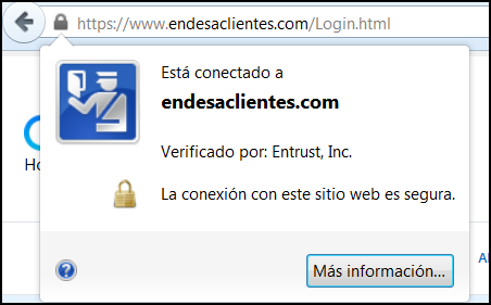 Certificado digital de Endesa