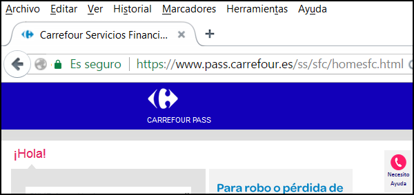 Ver certificado Chrome ima 1