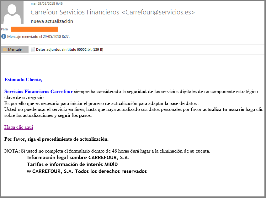 Imagen email Carrefour Pass
