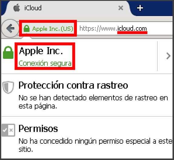 Certificado SSL de Apple