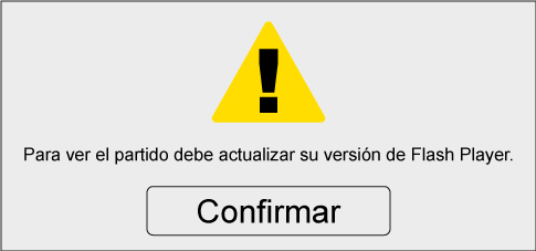 Falso aviso para actualizar Flash Player
