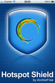 Logotipo de Hot Spot Shield VPN