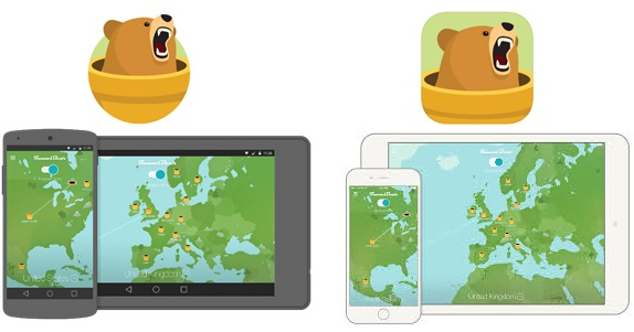 TunnelBear VPN disponible para iOS y Android