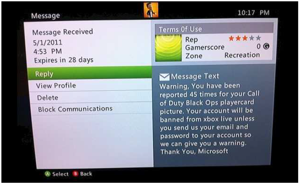 how to find messages on xbox one live